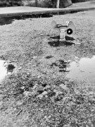 toy and footprints in mud (3)